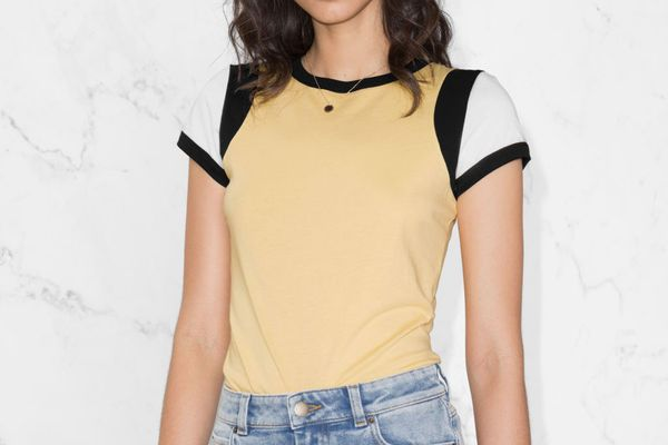 & Other Storie Colour Block Tee