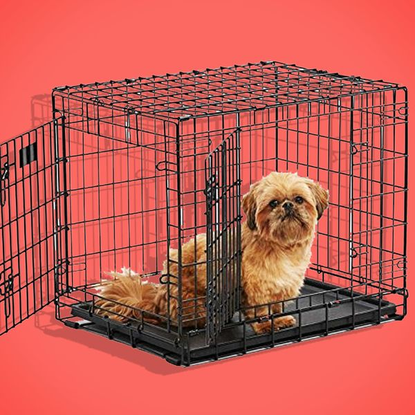 Ultima Pro Extra-Strong Double Door Folding Metal Dog Crate