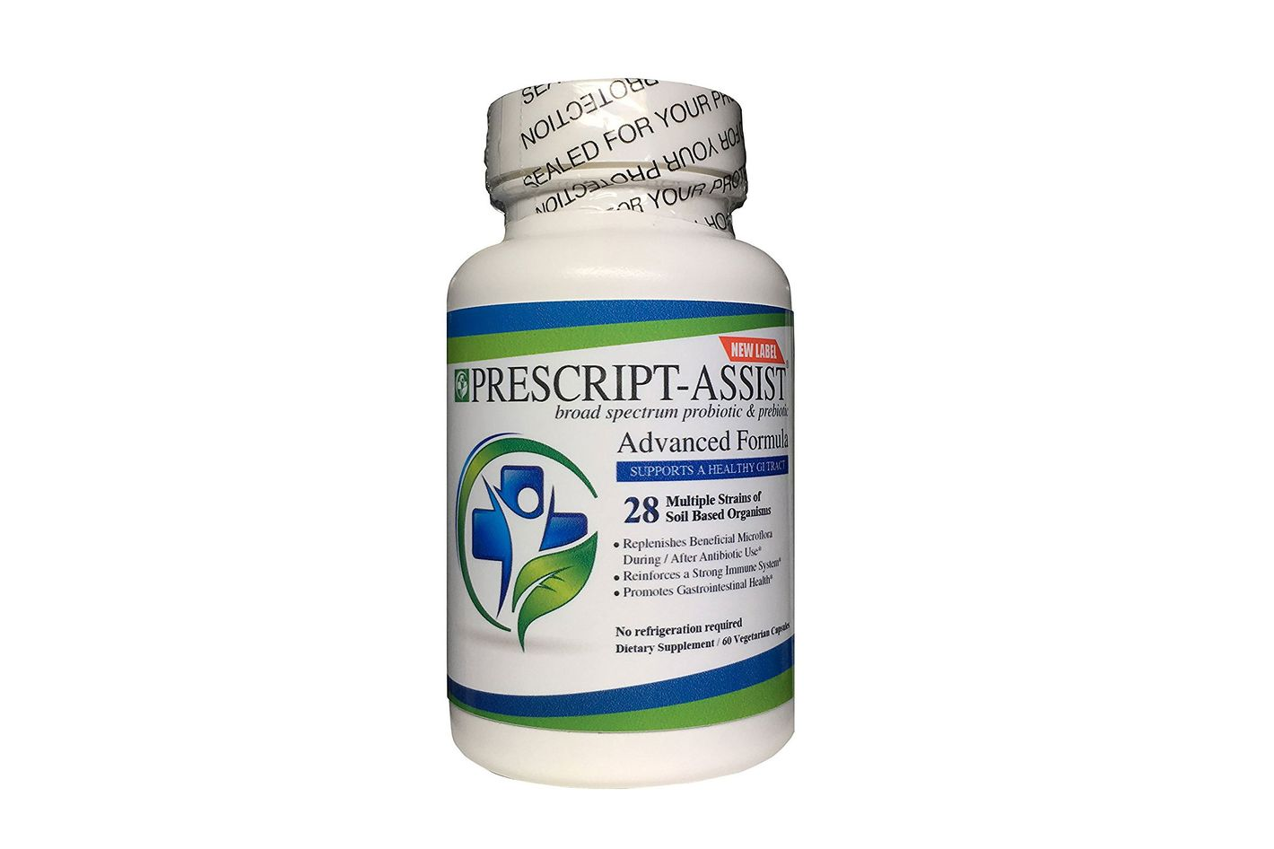 Prescript-Assist Soil based Probiotic and Prebiotic, 60 capsules