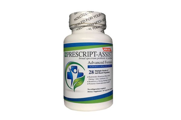 Prescript-Assist Soil based Probiotic and Prebiotic, 60 capsules