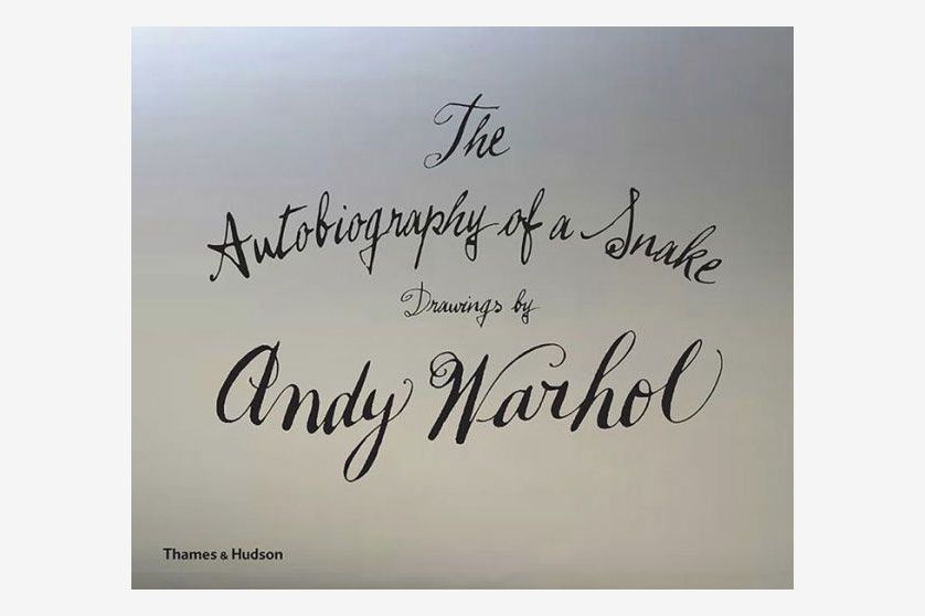 The Autobiography of a Snake, drawings by Andy Warhol