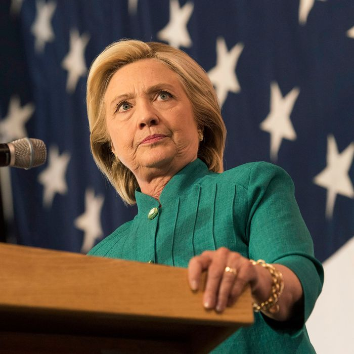 Democratic Presidential Candidate Hillary Clinton Launch Party At Iowa State Fairgrounds