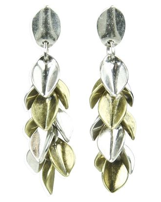 Pile It On Age Of Accessorizing Is Difficult To Bridge The Divide Some Jewelry Designers Combined Metals For Fall Giles Brother S Dangling Earrings