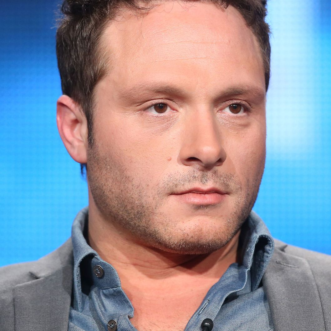 PASADENA, CA - JANUARY 09:  Executive Producer/Writer Nic Pizzolatto speaks onstage during the 'True Detective' panel discussion at the HBO portion of the 2014  Winter Television Critics Association tour at the Langham Hotel on January 9, 2014 in Pasadena, California.  (Photo by Frederick M. Brown/Getty Images)