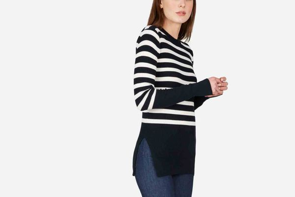 The Breton Ribbed Cotton Sweater