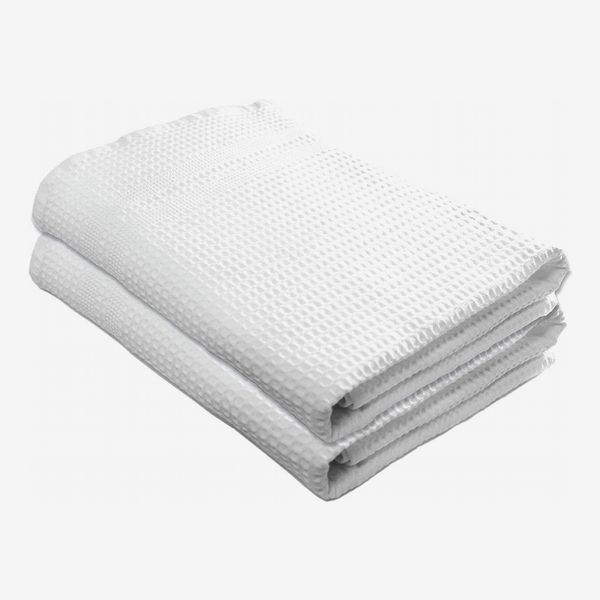 Gilden Tree Premium Bath Towels Quick Dry Waffle Weave 100% Natural Cotton