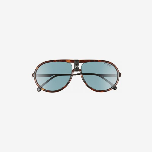 Carrera Eyewear Polarized Aviator Sunglasses