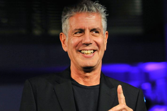 "Bourdain says the venue will have ""hundreds of options"" each day."