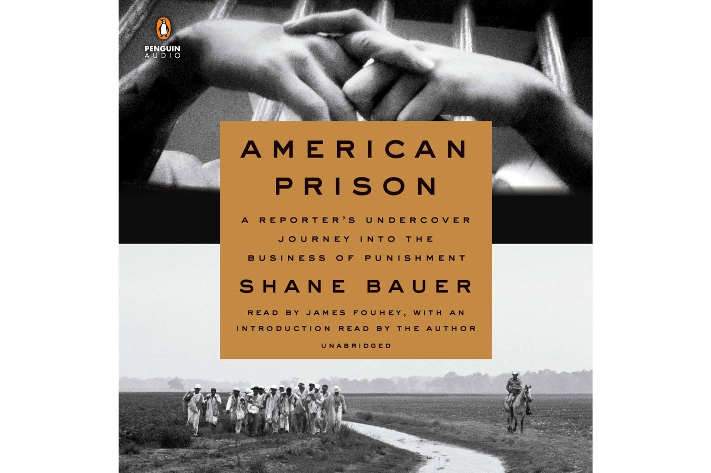<em>American Prison: A Reporter's Undercover Journey Into the Business of Punishment</em>, by Shane Bauer, narrated by James Fouhey (Penguin Audio, Sept. 18), 10 hrs, 25 min.