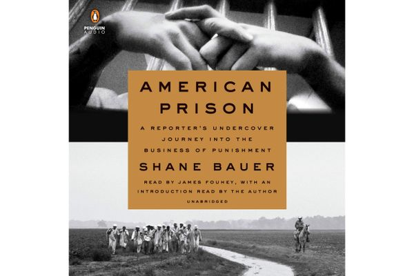 American Prison: A Reporter's Undercover Journey Into the Business of Punishment, by Shane Bauer, narrated by James Fouhey (Penguin Audio, Sept. 18), 10 hrs, 25 min.
