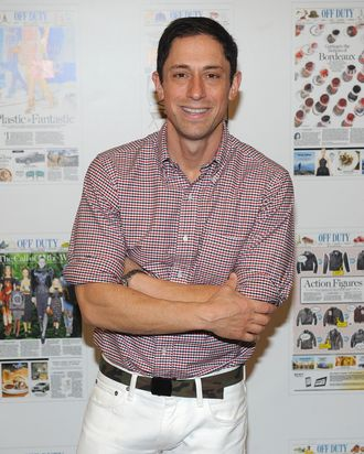 Designer Jonathan Adler the Off Duty Summer Pool Party Hosted By The Wall Street Journal at The James Hotel on June 13, 2012 in New York City.
