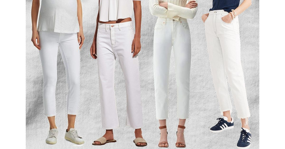 797b99e6a2596 The 14 Best White Jeans for Women of All Sizes 2018
