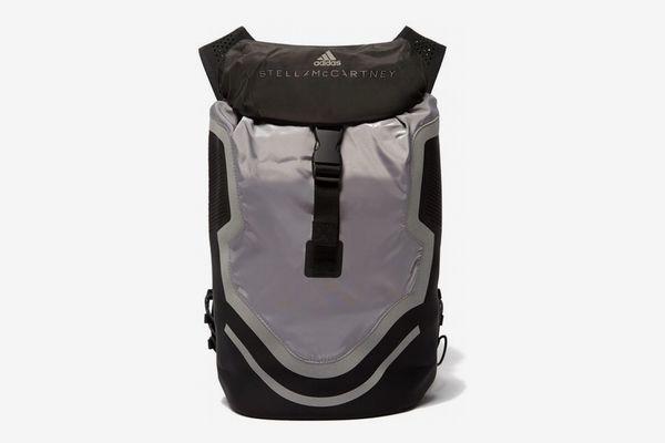 Adidas by Stella McCartney Run Perforated-Neoprene Backpack