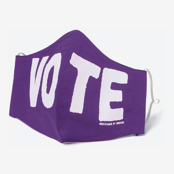 Fair Fight Purple Vote Mask
