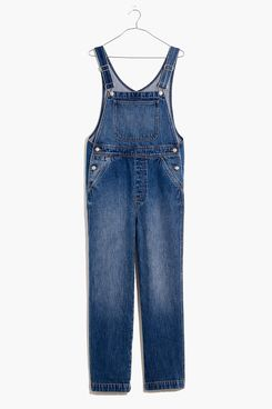 Madewell Relaxed Overalls in Irwell Wash