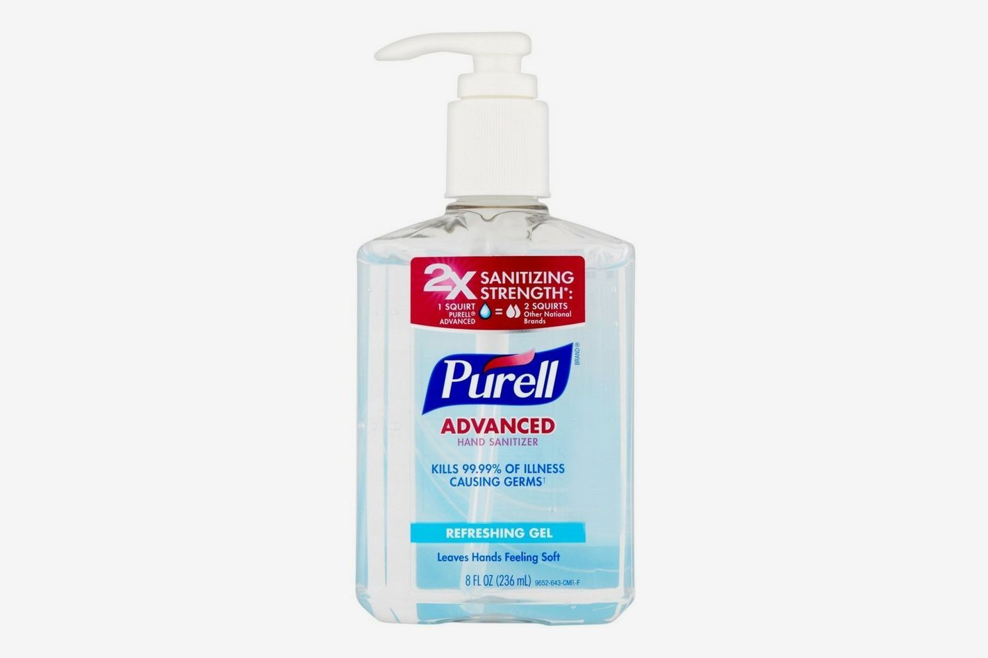 PURELL Advanced Hand Sanitizer Refreshing Gel, 2 Pack