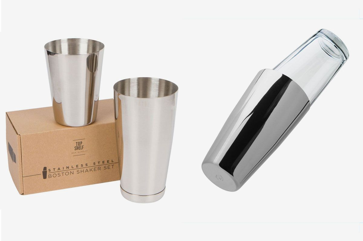 Boston Shaker: Professional Stainless Steel Cocktail Shaker Set