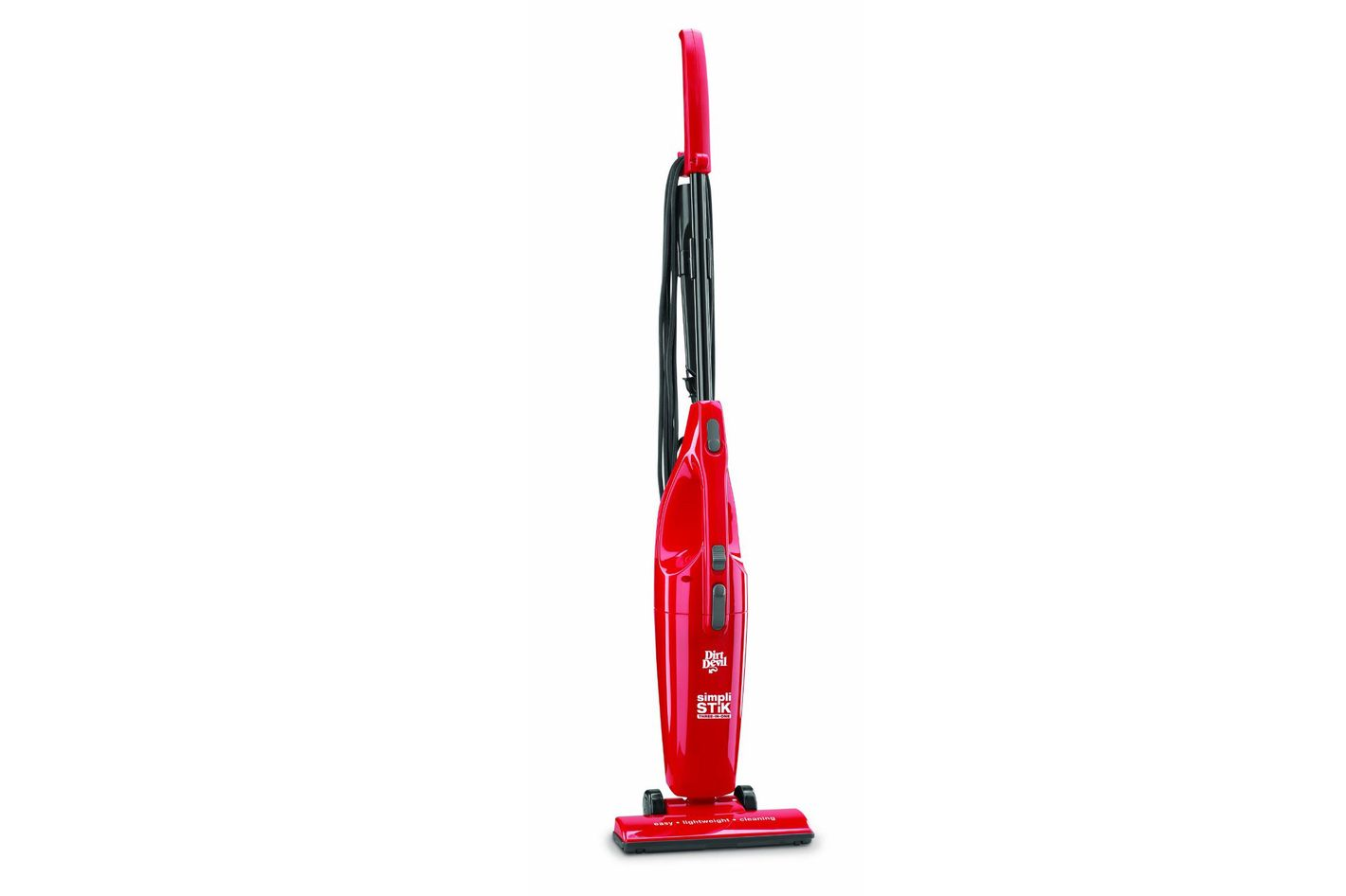 Dirt Devil Vacuum Cleaner Simpli Stik Lightweight Bagless Corded Stick And Handheld Sd20000red