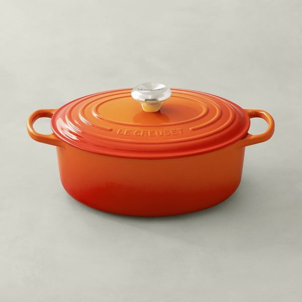 Le Creuset Oval Dutch Oven in Flame