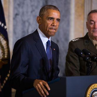 President Obama Receives Briefing On Orlando Shooting