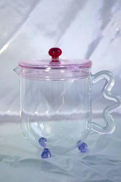 The Qi Bloom Glass Teapot