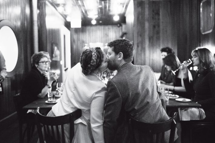 Nymag Real Weddings: Real Wedding Album: A 9-Person Celebration On Valentine's Day