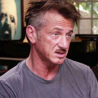 Sean Penn Makes Weird Drug-Influenced Appearance On The ...  |Sean Penn