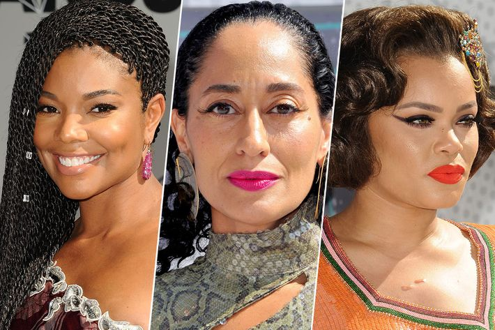 Gabrielle Union, Tracee Ellis Ross, and Andra Day at the BET Awards