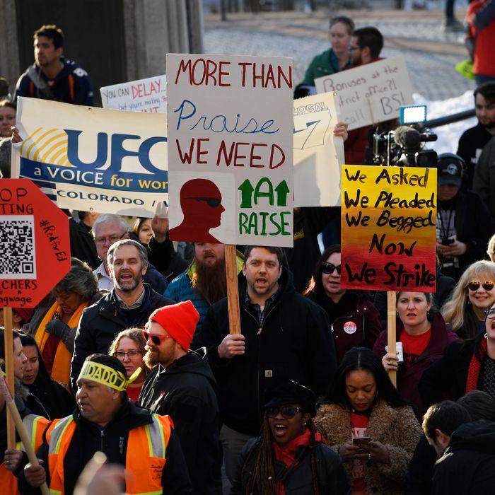Denver Teacher Strike: Red For Ed Continues: Where Teachers Strikes May Spread Next