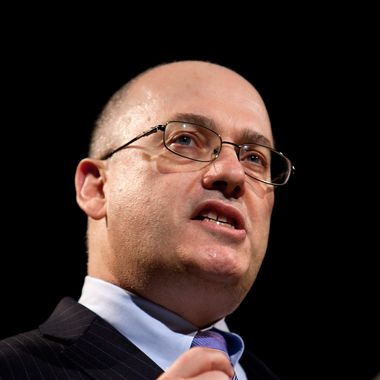 """Steven """"Steve"""" Cohen, chairman and chief executive officer of SAC Captial Advisors LP, speaks during the Robin Hood Veterans Summit in New York, U.S., on Monday, May 7, 2012. The one-day summit discusses transitioning the country's armed forces personnel back to civilian life."""