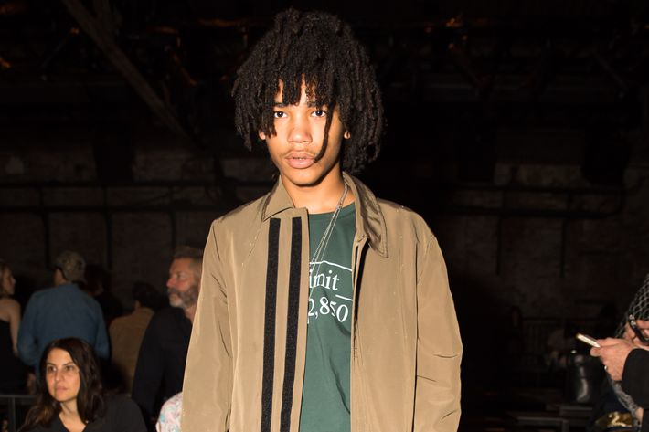 Model/stylist/Instagram star Luka Sabbat.