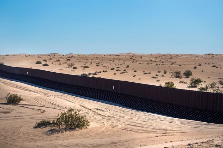 Image Officers to Push Trump Clear of Wall, Towards Fence Officers to Push Trump Clear of Wall, Towards Fence 15 border wall fence