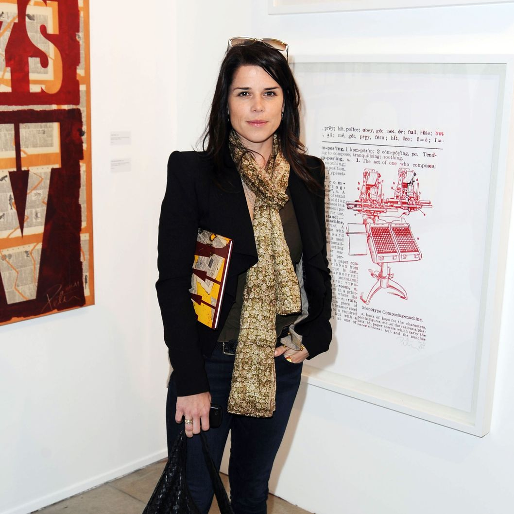 Neve Campbell==DICTIONARY DAZE - A Solo Exhibition of New Works by PETER TUNNEY==Kana Manglapus Projects, Venice, Ca==March 10, 2011==?Patrick McMullan==Photo - MIKE GARDNER/patrickmcmullan.com== ==