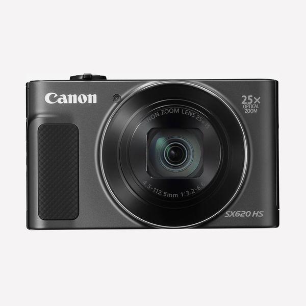 Canon PowerShot SX620 Digital Camera, Black