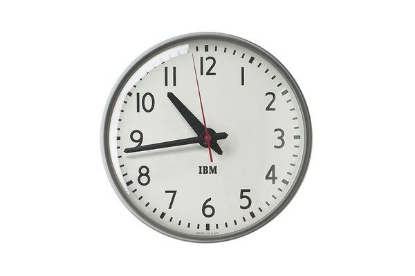 1960s IBM Standard-Issue Clock