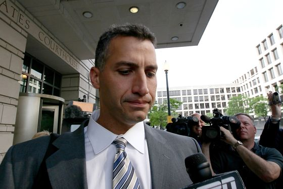 WASHINGTON, DC - MAY 01:  Andy Pettitte leaves the U.S. District Court after testifying in the perjury and obstruction trial of former teammate Roger Clemens May 1, 2012 in Washington, DC. A seven-time Cy Young Award winner, Clemens is on trial for making false statements, perjury and obstructing Congress when he testified about steroid use during a February 2008 inquiry by the House Oversight and Government Affairs.  (Photo by Win McNamee/Getty Images)