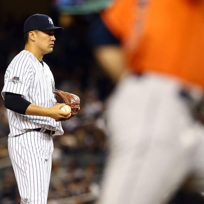 Wild Card Game - Houston Astros v New York Yankees
