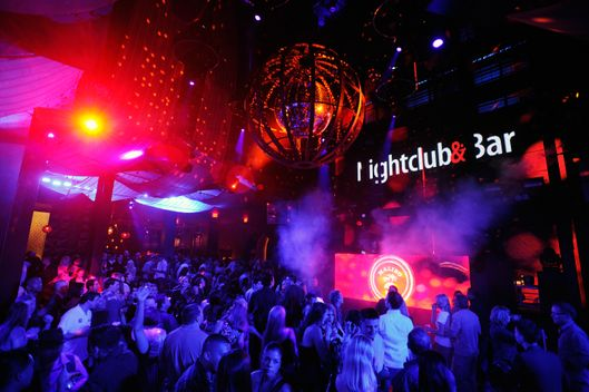 A general view of atmosphere at the Nightclub & Bar Top 100 party during the 27th annual Nightclub & Bar Convention and Trade Show at the Marquee Nightclub at the Cosmopolitan of Las Vegas on March 13, 2012 in Las Vegas, Nevada.