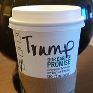 Starbucks Barista Has No Time for Scott Baio's Lame 'Trump' Stunt