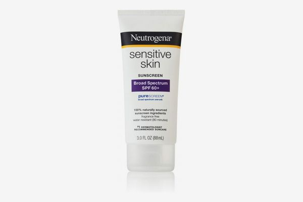 Neutrogena Sensitive Skin Sunscreen Lotion with Broad Spectrum SPF 60+
