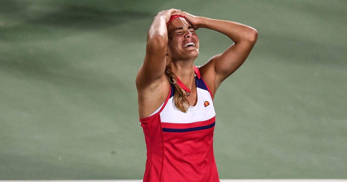 Monica Puig Wins First Olympic Gold Medal for Puerto Rico