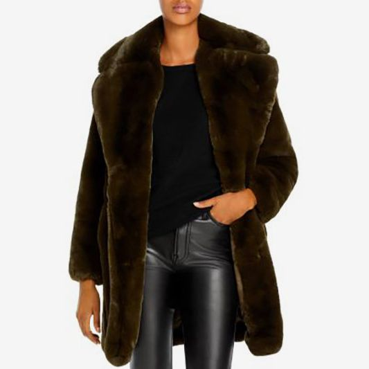 Apparis Sasha Faux Fur Coat