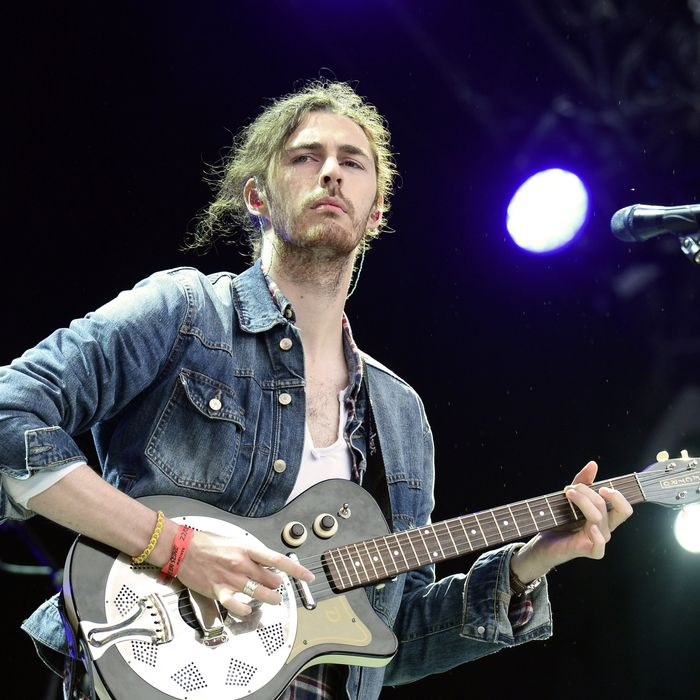 Hozier, playing music just for you.