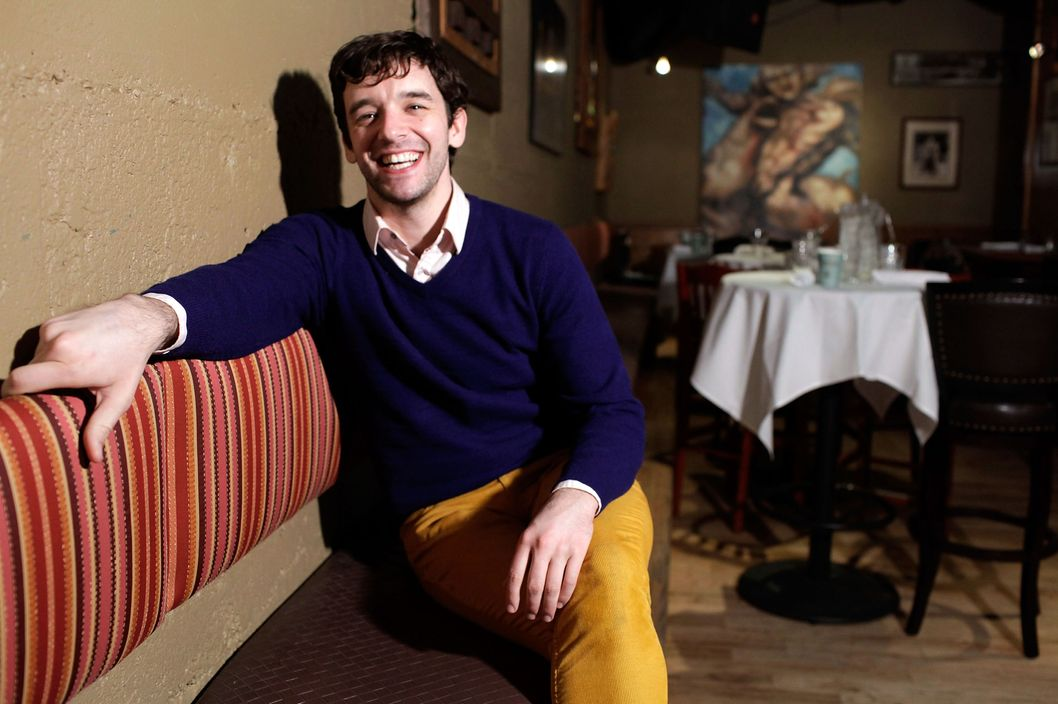 "Filmmaker Michael Urie attends ""He's Way More Famous Than You"" Pre-Screening Brunch at Cisero's Bar on January 20, 2013 in Park City, Utah."