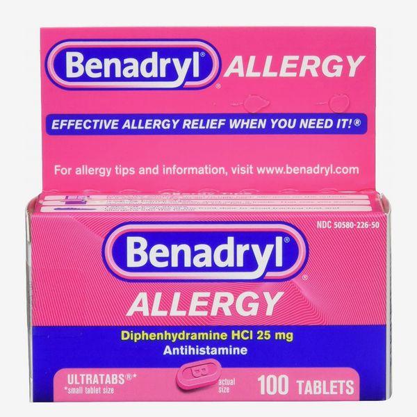 Benadryl Ultratabs Antihistamine Allergy Relief Tablets