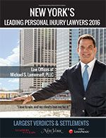 New York's Top Verdicts & Settlements and Personal Injury Litigators 2015