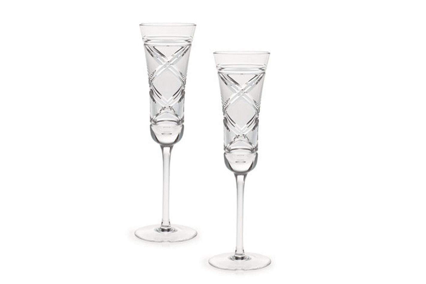 Ralph Lauren Home Brogan Crystal Champagne Flute