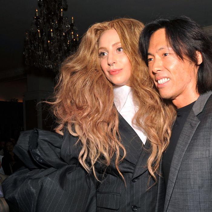 Lady Gaga and Stephen Gan.