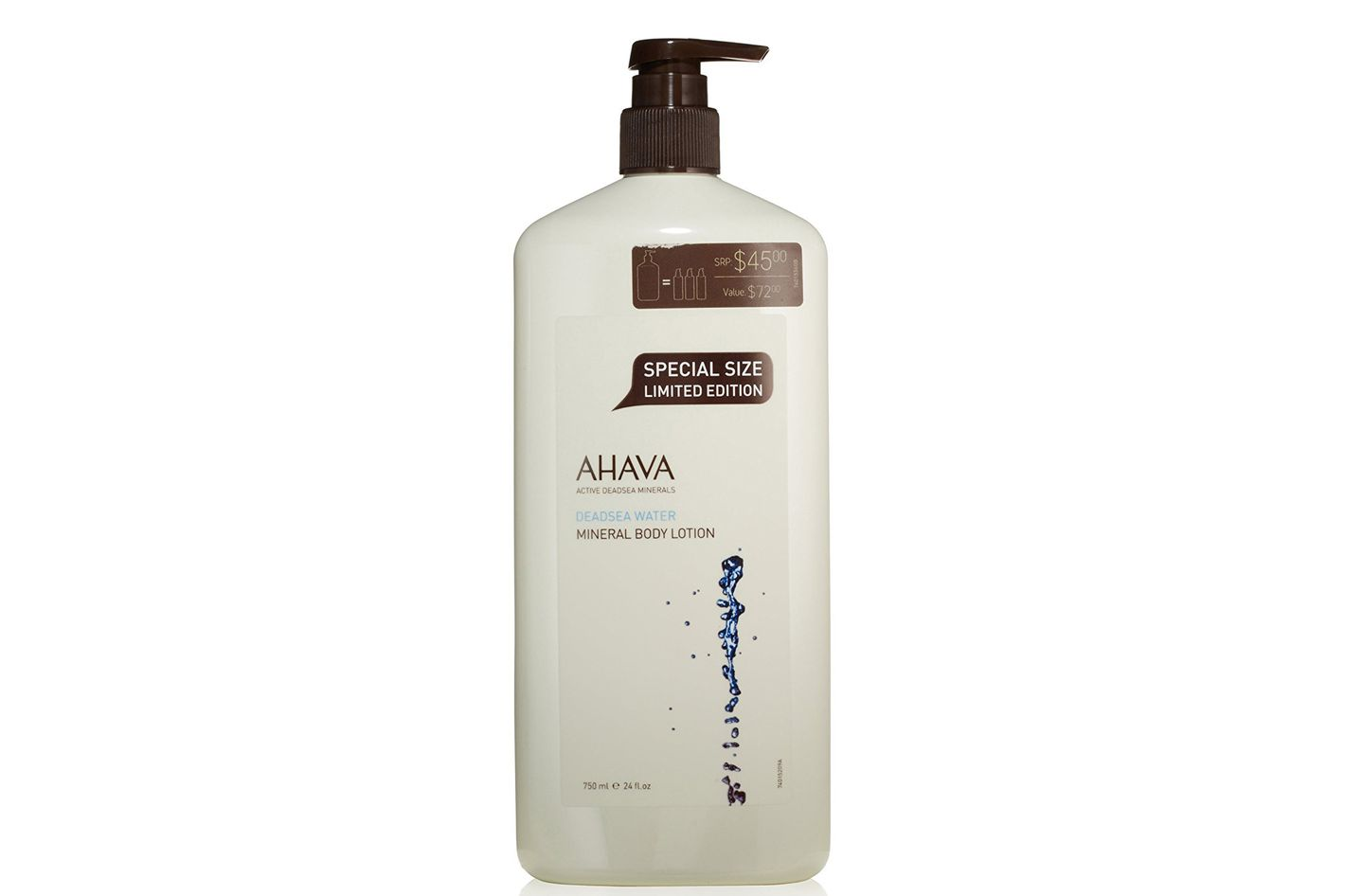 AHAVA Dead Sea Water Mineral Body Lotion