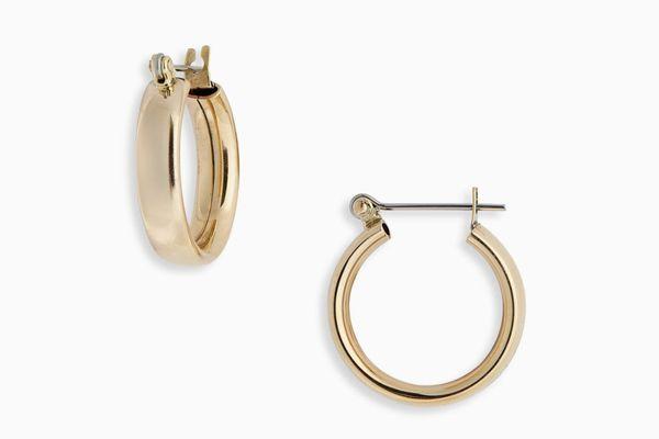 Laura Lombardi Mini Band Hoop Earrings